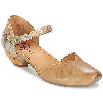 Chaussures Femme Sandales et Nu-pieds Think AIDA camel
