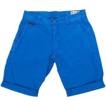 Vêtements Homme Shorts / Bermudas Biaggio Famiros roy fluo bermuda Bleu moyen