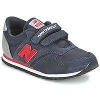Chaussures Enfant Baskets basses New Balance KE420 Marine / Rouge