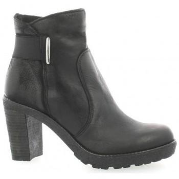 Chaussures Femme Boots Pao Boots cuir nubuck Noir