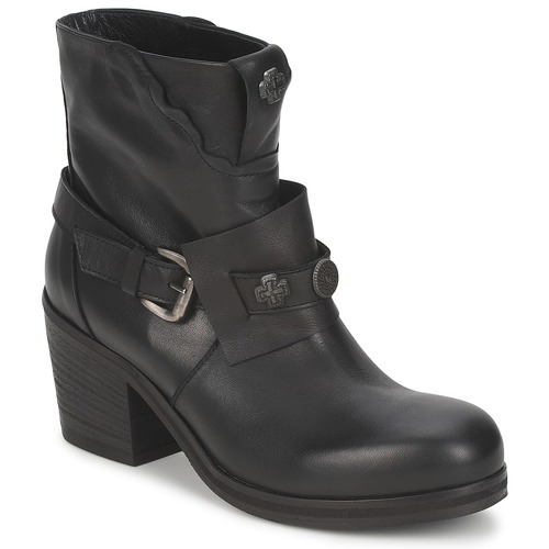 Chaussures Femme Bottines Strategia MAUTAU Noir
