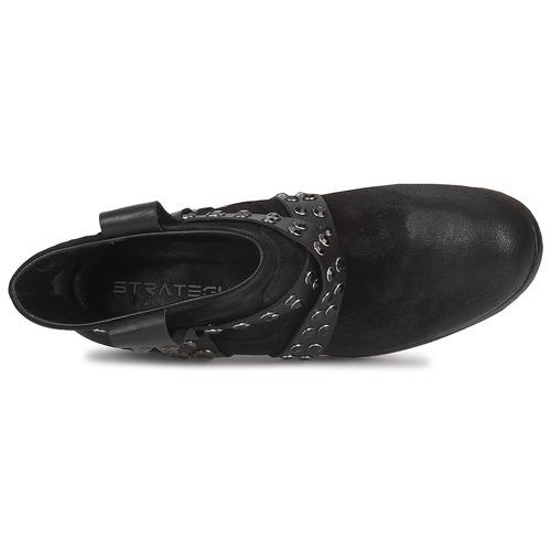 Lumese Noir Boots Femme Strategia n0yv8OPmNw