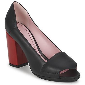 Chaussures Femme Escarpins Sonia Rykiel 657940 Noir / Rouge