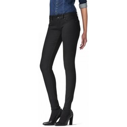 Vêtements Femme Jeans slim G-Star Raw Jeans  Midge Zip Low Super Skinny Slander superstretch Rinsed Noir