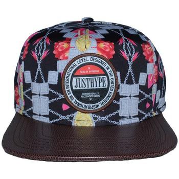 Accessoires textile Homme Casquettes Hype Snapback  Jewellery Floral Noire et marron Noir