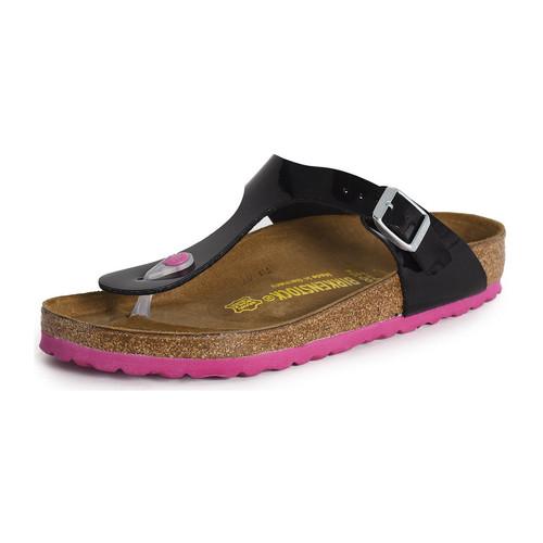 Chaussures Femme Sandales et Nu-pieds Birkenstock Gizeh noir