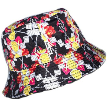 Accessoires textile Chapeaux Hype Bob  Jewellery Floral Noir et Jaune Noir