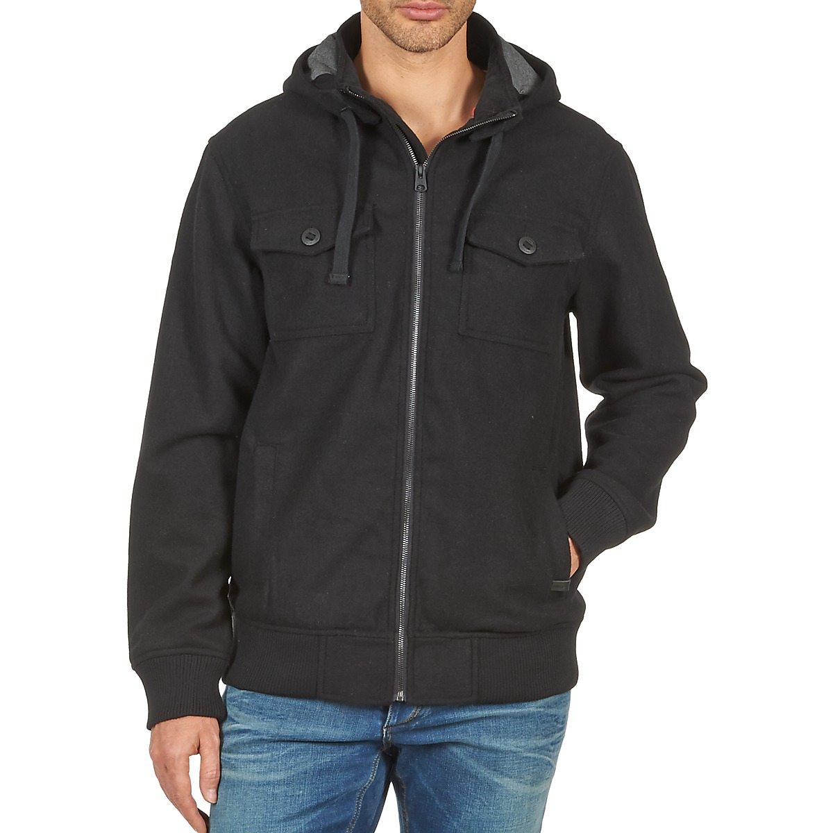 Nixon CAPTAIN JACKET III Noir