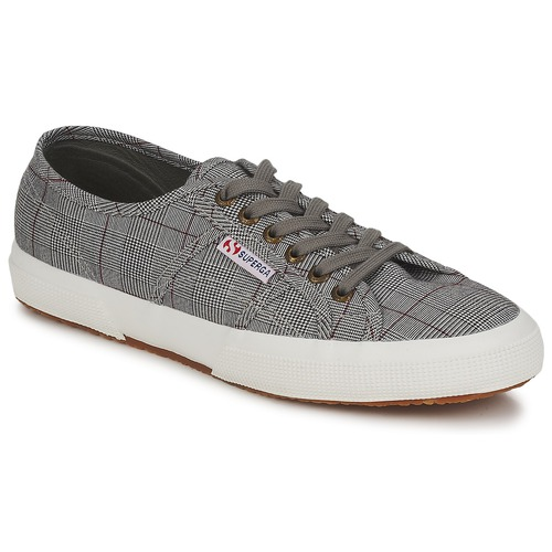 Chaussures Homme Baskets basses Superga 2750 GALLESU Gris / Blanc