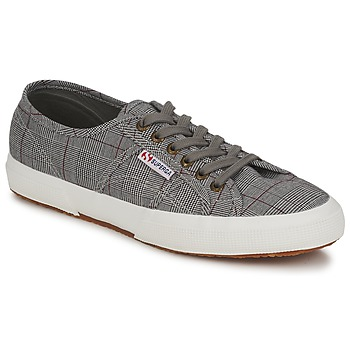 Baskets mode Superga 2750 GALLESU Gris / Blanc 350x350