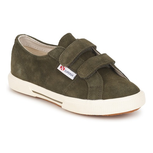 Chaussures Enfant Baskets basses Superga 2950 Army