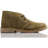 Chaussures Baskets montantes Arantxa Safari botte en cuir e de AR BEIGE