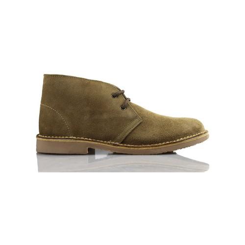 Arantxa Safari botte en cuir e de AR BRUN - Chaussures Basket montante