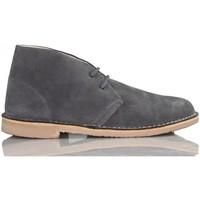 Chaussures Baskets montantes Arantxa Safari botte en cuir unisexe de ARANCHA GRIS