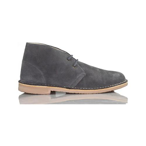 Chaussures Baskets montantes Arantxa Safari botte en cuir e de AR GRIS