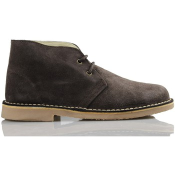 Chaussures Baskets montantes Arantxa Safari botte en cuir unisexe de ARANCHA BRUN
