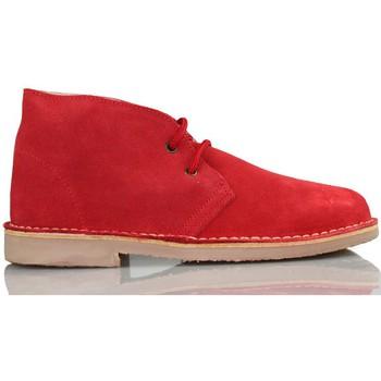 Chaussures Baskets montantes Arantxa Safari botte en cuir unisexe de ARANCHA ROUGE