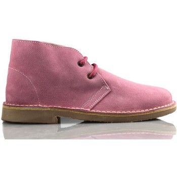 Chaussures Baskets montantes Arantxa Safari botte en cuir unisexe de ARANCHA ROSE
