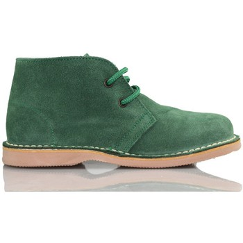 Chaussures Baskets montantes Arantxa Safari botte en cuir e de AR VERT