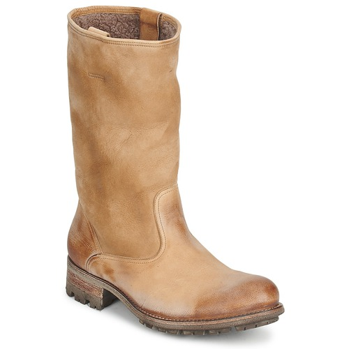Chaussures Femme Bottes ville n.d.c. VALLEE BLANCHE KUDUWAXOIL/DFA Marron
