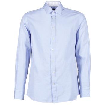 Chemises Hackett SQUARE TEXT MUTLI Bleu 350x350