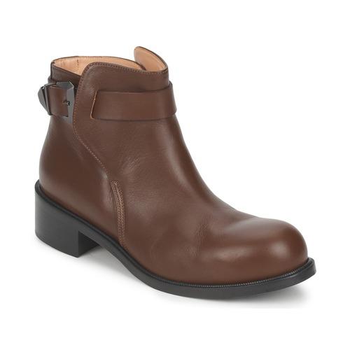 Chaussures Femme Boots Kallisté 5723 Marron