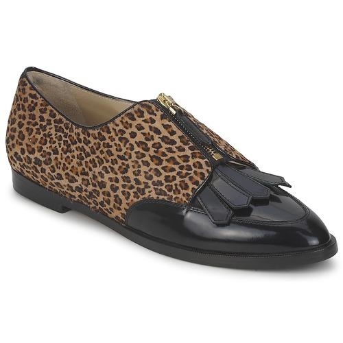Chaussures Femme Derbies Etro EBE Noir / Beige