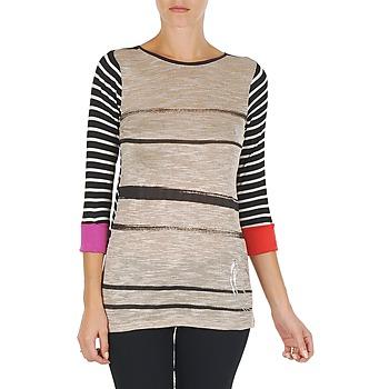 Vêtements Femme Tuniques Desigual ESRAR 2 Taupe