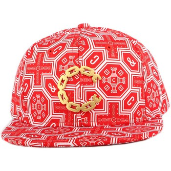 Casquette Crooks Castles Strapback Crooks and Castles Thuxury Venetian Rouge