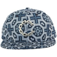 Casquettes Crooks & Castles Strapback Crooks and Castles Thuxury Venetian Bleu