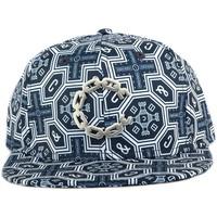 Accessoires textile Homme Casquettes Crooks & Castles Strapback Crooks and Castles Thuxury Venetian Bleu Bleu