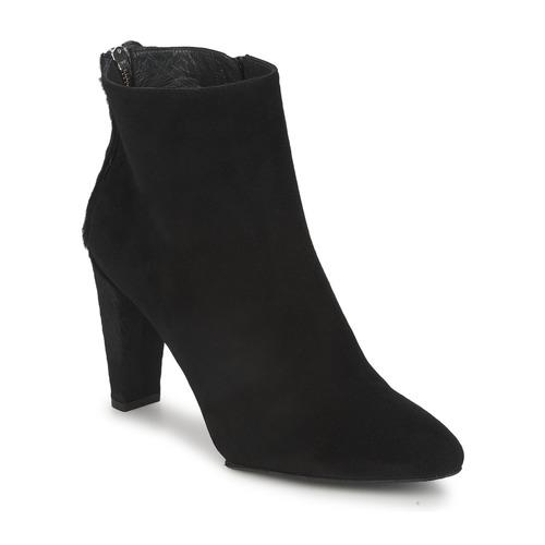 Chaussures Femme Boots Stuart Weitzman ZIPMEUP Noir