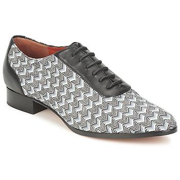 Chaussures Femme Richelieu Missoni WM076 Noir / Gris