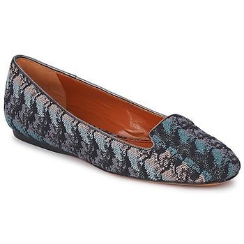 Chaussures Femme Mocassins Missoni WM004 Bleu