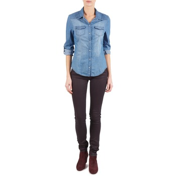 Vêtements Femme Jeans slim Replay LUZ Violet