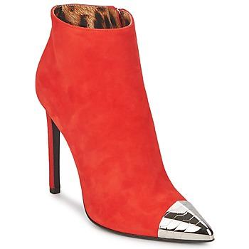 Chaussures Femme Bottines Roberto Cavalli WDS213 Rouge