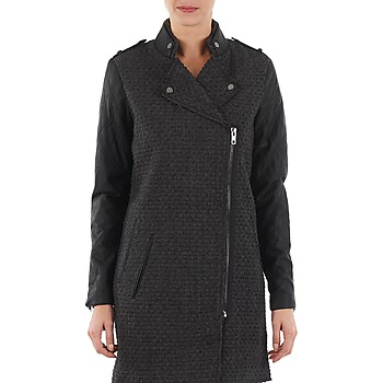 Vêtements Femme Manteaux Yas MIND WOOL BICKER JACKET Gris