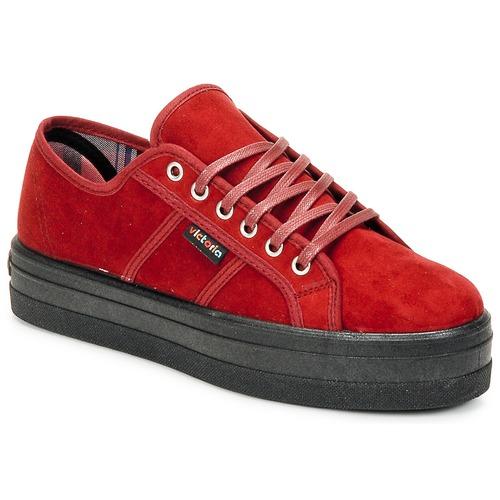 Chaussures Femme Baskets basses Victoria 9205 Bordeaux