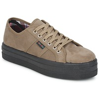 Chaussures Femme Baskets basses Victoria 9205 Taupe