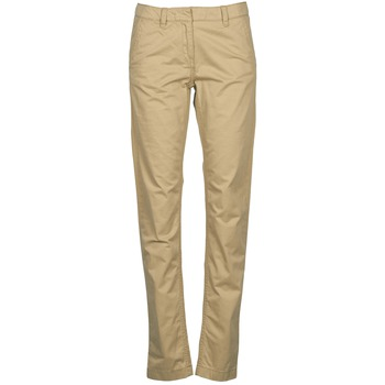 Vêtements Femme Chinos / Carrots Tommy Hilfiger KENSINGTON Beige