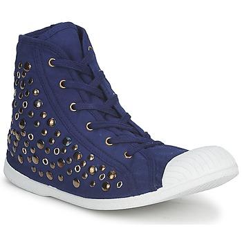 Chaussures Femme Baskets montantes Wati B BEVERLY Marine
