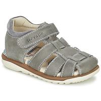 Chaussures Garçon Sandales et Nu-pieds Garvalin GALERA Gris
