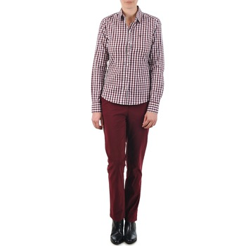 Pantalons Gant C. COIN POCKET CHINO Bordeaux 350x350