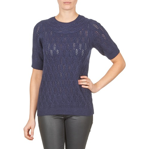 Vêtements Femme Pulls Gant C. POINTELLE TOP Marine