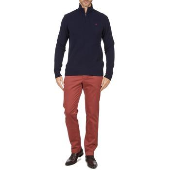 Pantalons Hackett STRETCH TWILL CHINO Rose 350x350