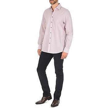Multi Hackett Chemises Mini Vêtements Manches Grid Check Homme Longues Multicolore CBodxe
