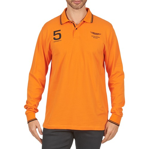 T-shirts & Polos Hackett AMR DOUBLE TIP Orange 350x350