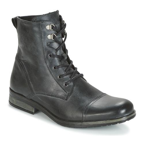 Casual Ribelle Attitude Noir Boots Homme 0nOwPk