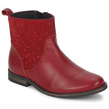 Bottines / Boots Citrouille et Compagnie BELFINE Rouge 350x350
