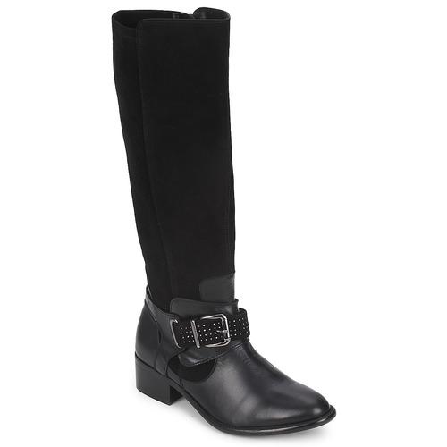 Chaussures Femme Bottes ville Betty London ADELINE Noir